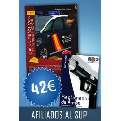 Casos Prácticos de Operativa Policial (5ª edición) + Reglamento de Armas (AFILIADOS)