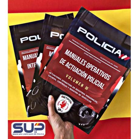 Manuales Operativos de Intervención Policial